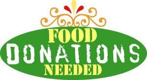 October Staff Meeting Food Donations Needed: October 23