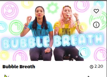 Bubble Breath from Go Noodle