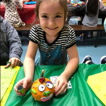 Look at this creative pumpkin!