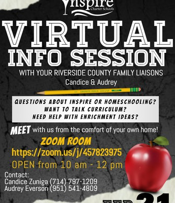 Virtual Info Session with Candice and Audrey