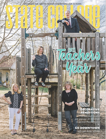 Congratulations to Mrs. Koehle: State College Magazine Teacher of the Year