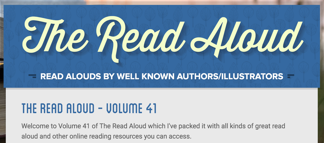 The Read Aloud - Volume 41