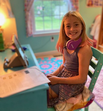 First day of school-Virtual