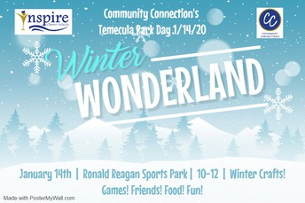 Winter     Wonderland Park Day in Temecula!