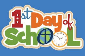 What should I do on the first day of school?