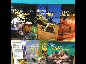 Science Text & More in Spanish!