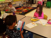 Working on our fluency skills in Ms. Shepherd's class