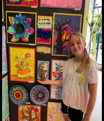 Miss Aspen Morgan, 5th Grade Artist
