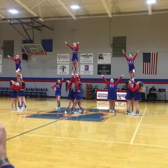 Our cheerleaders rock!