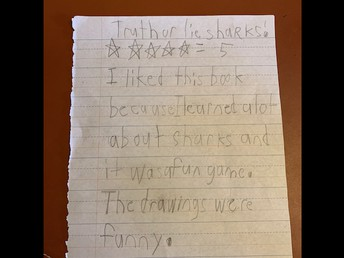 Review by Jonathan O - 1st Grade