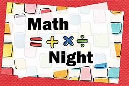 Haz y toma la noche de matemáticas