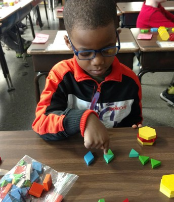 More 1st grade shapes!