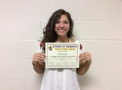 Sophomore Student of the Month: Trinity Salinas