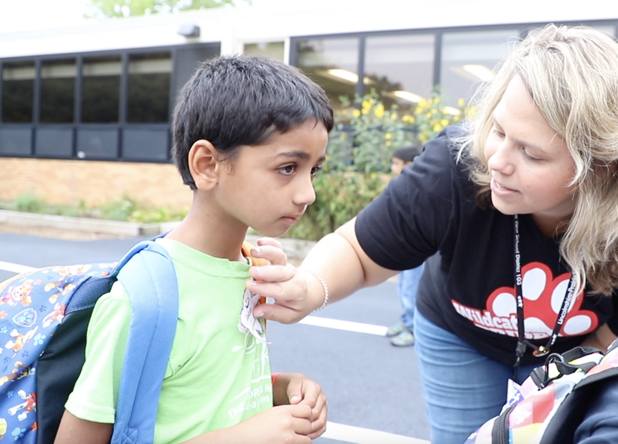first day of school video