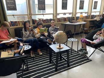 Flexible Seating for Reading in Core 6