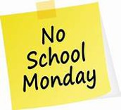 No School - Monday, January 20th