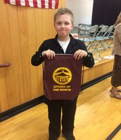 PCS 5th grade Citizen of the Month