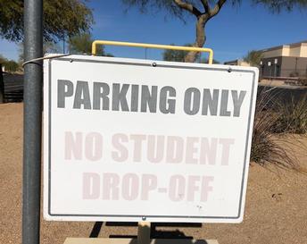 Parking Lot Drop Off Procedures