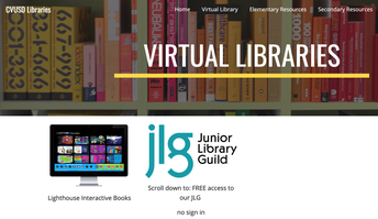 Welcome to the CVUSD Virtual Library