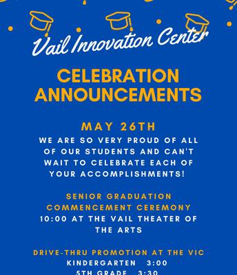 VIC Celebration Info.