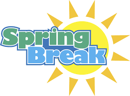 Have a good spring break, Lancers!