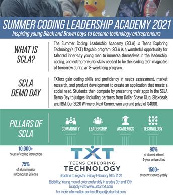 Summer Coding Leadership Academy