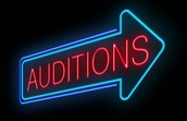 Auditions Begin This Week