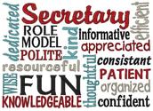Secretary Notes