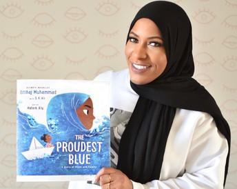 The Proudest Blue by Ibtihaj Muhammad