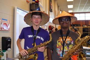 Musicians in Hats