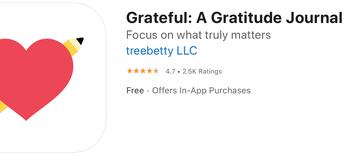 Grateful: A Gratitude Journal App