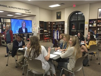 AP Government & Politics Hosts Super Tuesday Watch Party