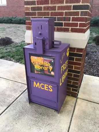 MCES Little Free Library