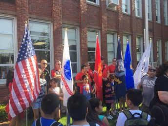 Memorial Day Flag Raising Ceremony