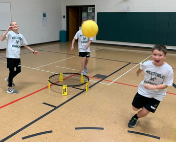 Spike Ball Action in PE