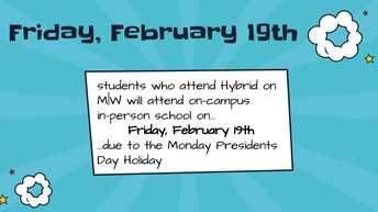 M|W Hybrid Students Attend Friday the 19th