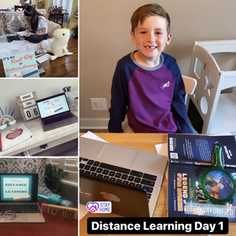 April 6, 2020: First Day of Distance Learning (Soft Launch)