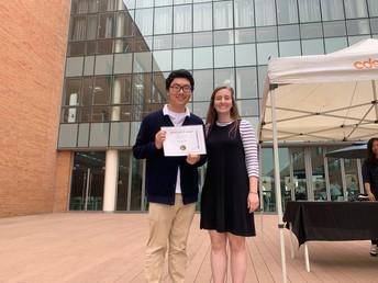 Edward Gwon - Curiosity Award Winner