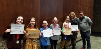 PTA Reflections Honorees