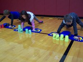 MOVING IN GYM CLASS!