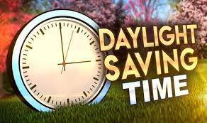 Time change Saturday night into Sunday morning - move your clocks one hour forward. You may lose one hour of sleep...but you'll gain one hour of sunshine!