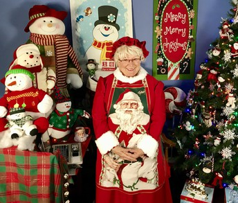 A Visit with Mrs. Claus