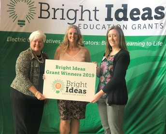 Bright Ideas Grant Recipient
