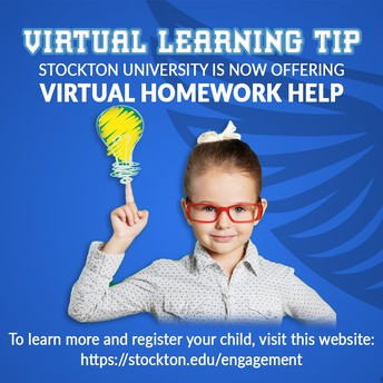 STOCKTON OFFERS FREE VIRTUAL HOMEWORK COMPLETION PROGRAM