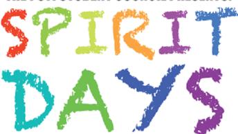 UPCOMING SPIRIT DAY SCHEDULE...