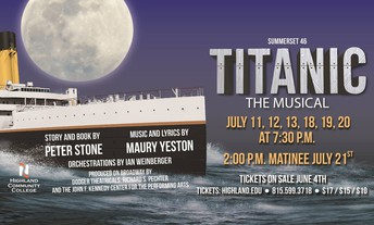 'TITANIC the Musical' Auditions on Saturday