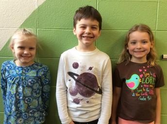 Sarah, Sawyer, & Nora
