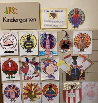 JC kindergarten art