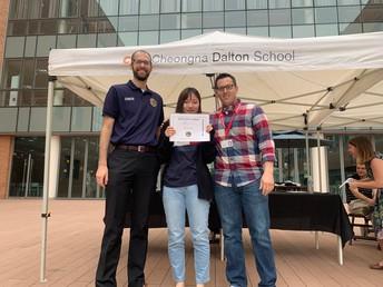 Jasmine Kwon - Community Award Winner