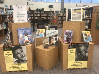 PBMS Library Focuses on African American Authors and Literature